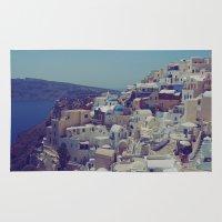 Oia, Santorini, Greece II Rug