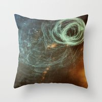 Untanglement - fresh air Throw Pillow