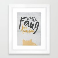 White Fang - Jack London… Framed Art Print