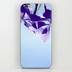 lost in blue iPhone & iPod Skin