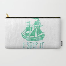 I Ship It - Watercolour Carry-All Pouch
