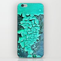 aqua paint iPhone & iPod Skin
