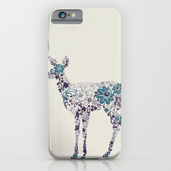 Flower Deer iPhone & iPod Case