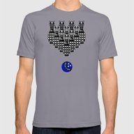 Time For Bowling. Doctor… Mens Fitted Tee Slate SMALL