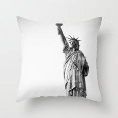 Lady Throw Pillow