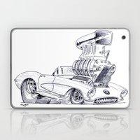 Blown Vette Laptop & iPad Skin