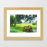 India [3] Framed Art Print