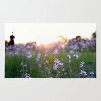Sunset In Spring Rug