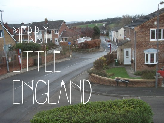 Merry Little England Art Print