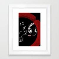 Zone Framed Art Print