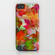 Autumn Leaves iPod touch Slim Case