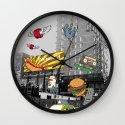 N Y C Wall Clock