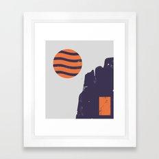 Tundra Framed Art Print