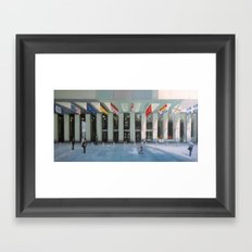First Canadian Place Framed Art Print