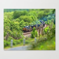 Rollin' Round the Bend Canvas Print