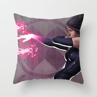 Psylocke Throw Pillow