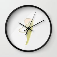 The Harpist Wall Clock