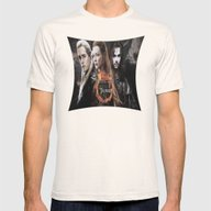 Kili,legolas,tauriel,the… Mens Fitted Tee Natural SMALL
