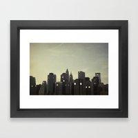 Building Conversations  Framed Art Print