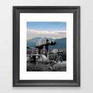 War Stars Framed Art Print
