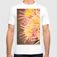 Autumn Fireworks Mens Fitted Tee White SMALL