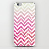 Pixie Dust Chevron iPhone & iPod Skin