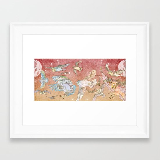 The Migration Framed Art Print