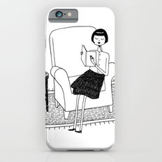 I'll get by as long as I have books iPhone 6 Slim Case