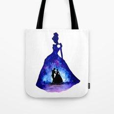Cinderella Double Exposure - Dancing Tote Bag