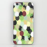 iPhone & iPod Skin featuring Green And Lights With Da… by Jessielee