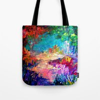 WELCOME TO UTOPIA Bold R… Tote Bag