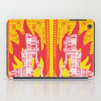 Incendiary Material iPad Case