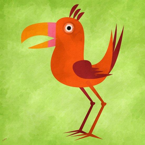 The Tiki Bird Art Print