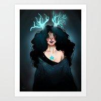 The Light of the Night Art Print