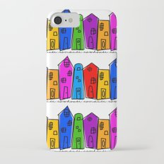 Rowhouse Romance iPhone 7 Slim Case