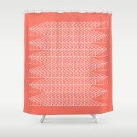 obratan Shower Curtain