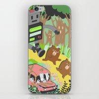 Run Run Run iPhone & iPod Skin