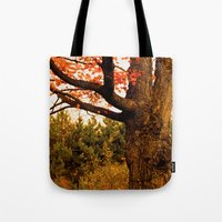 Autumn Lights Tote Bag