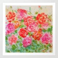 Forever Roses Art Print
