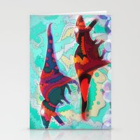 Dinosaur Collaboration Stationery Cards