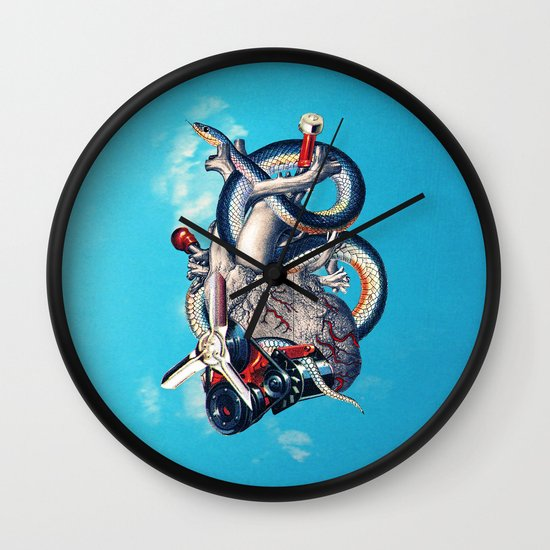 Heart of Illuminati Wall Clock