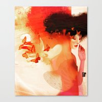 Madame Butterfly Solo Or… Canvas Print
