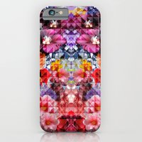 iPhone & iPod Case featuring Crystal Floral by PatternPeople