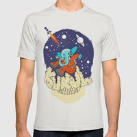kukul Mens Fitted Tee Silver SMALL