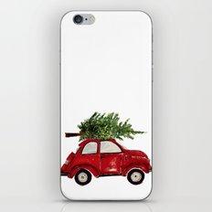 Red Christmas Beetle  iPhone & iPod Skin