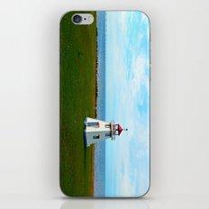 Tiny Lighthouse and Giant Bridge iPhone & iPod Skin