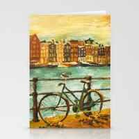 Going Dutch (yellow) Stationery Cards