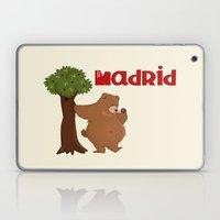 MADRID: Bear and Madrono (v.2) Laptop & iPad Skin