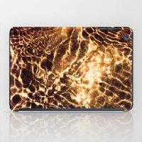 Golden Sea iPad Case