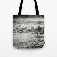 Somewhere Over The Clouds (IV Tote Bag
